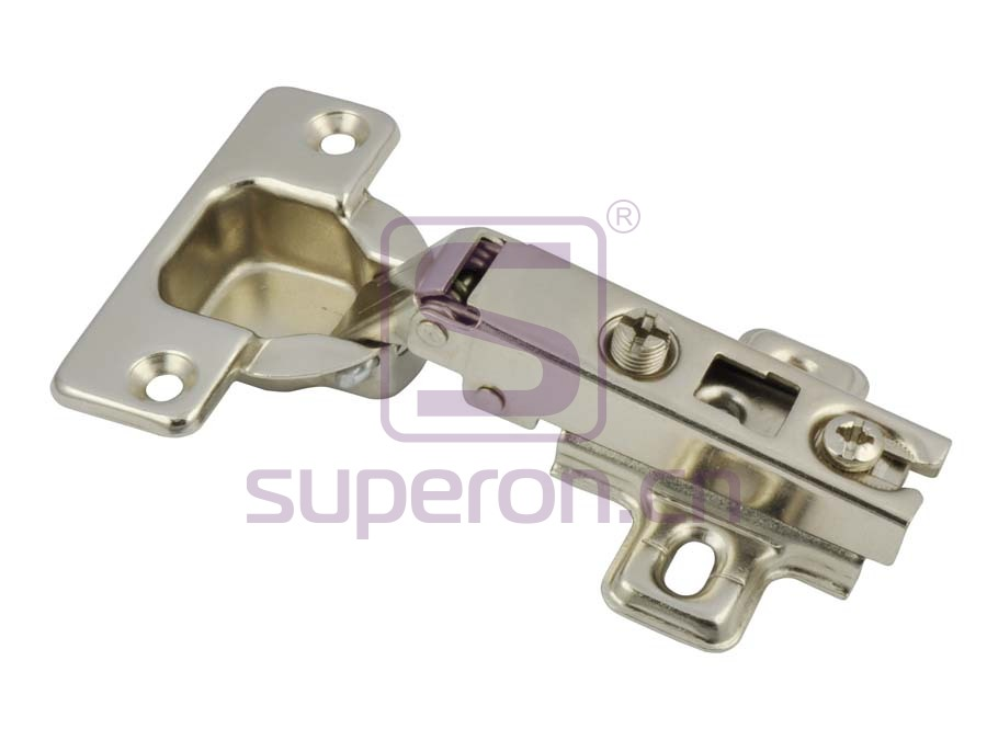 Concealed hinge , slide-on