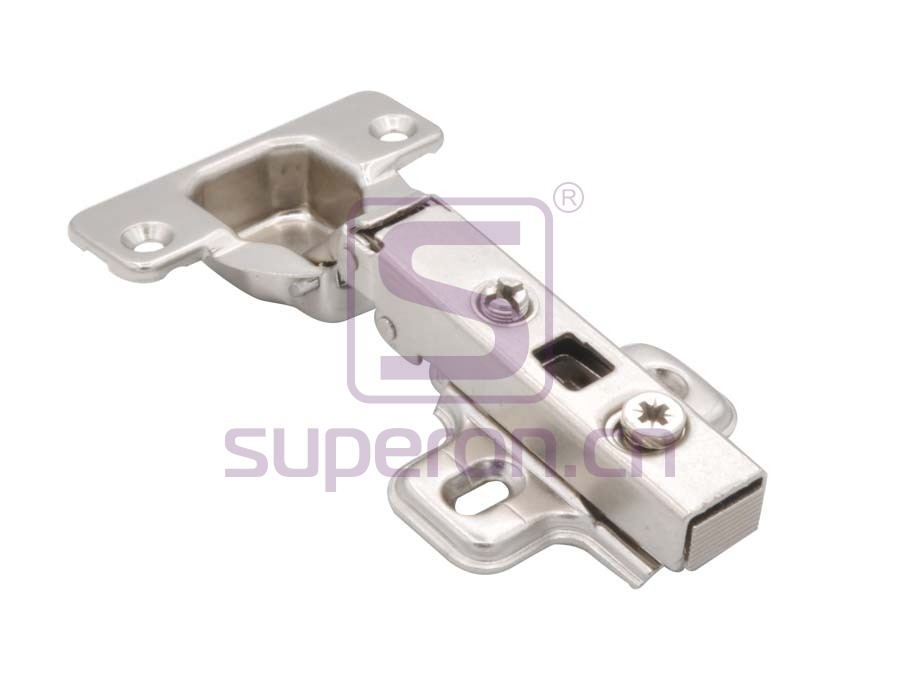 Short hinge, slide-on, d35