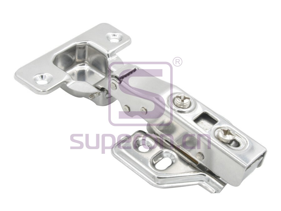 01-098 | Soft-closing hinge, st. st, clip-on