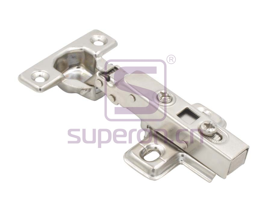 Hinge 26mm, soft-closing, clip-on