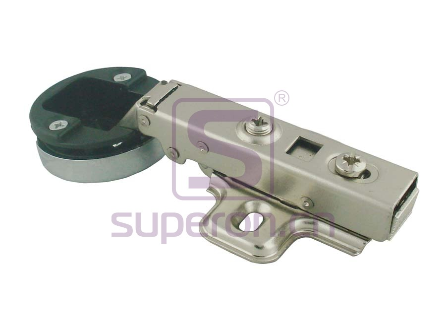 Soft-closing hinge d35mm, for glass