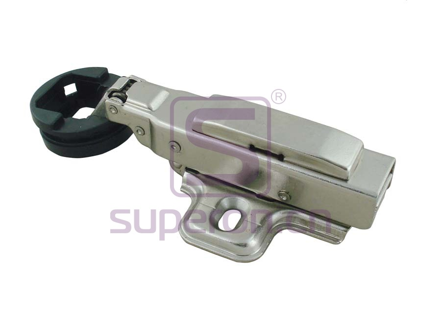 Hydraulic hinge 26mm, for glass