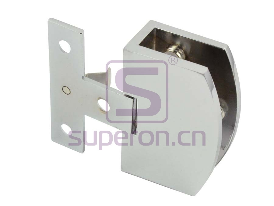 Hinge for folding doors