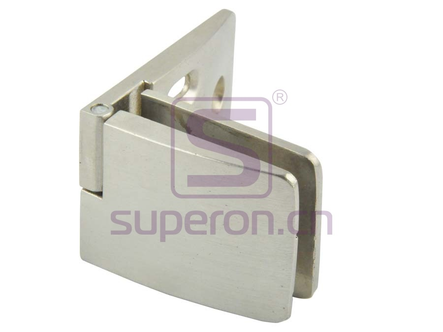 Hinge for glass door