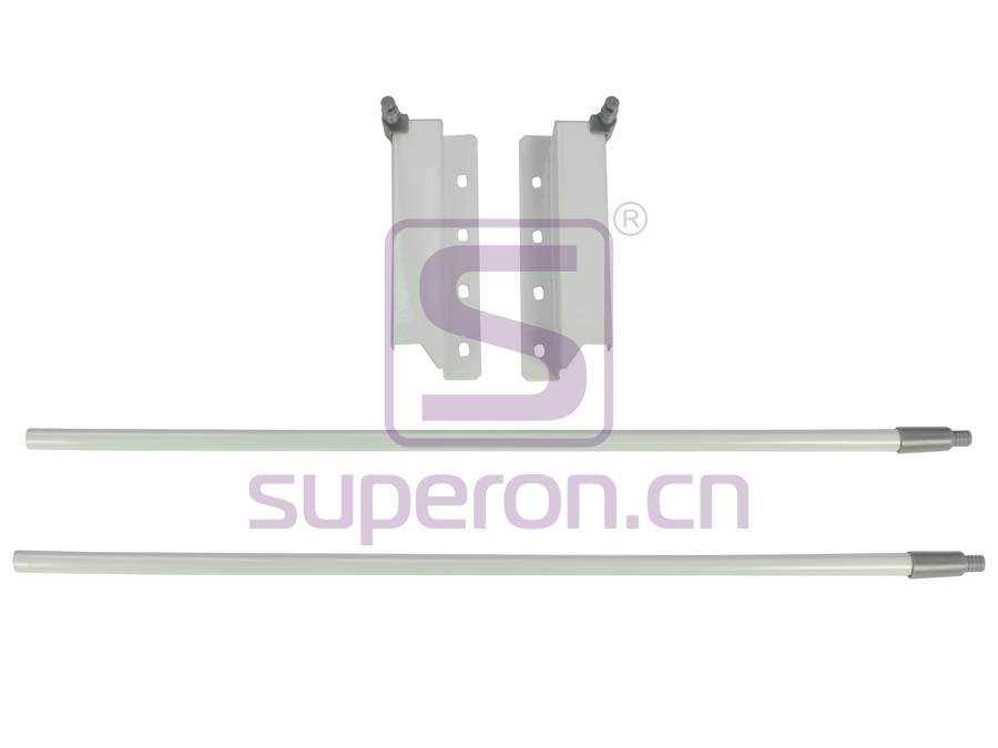 Side railing for sliding-box, h160