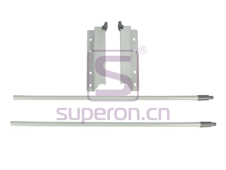 Side railing for sliding-box, h200