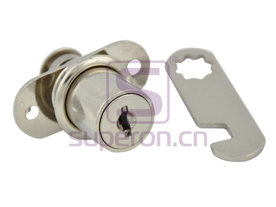 Lock with round key