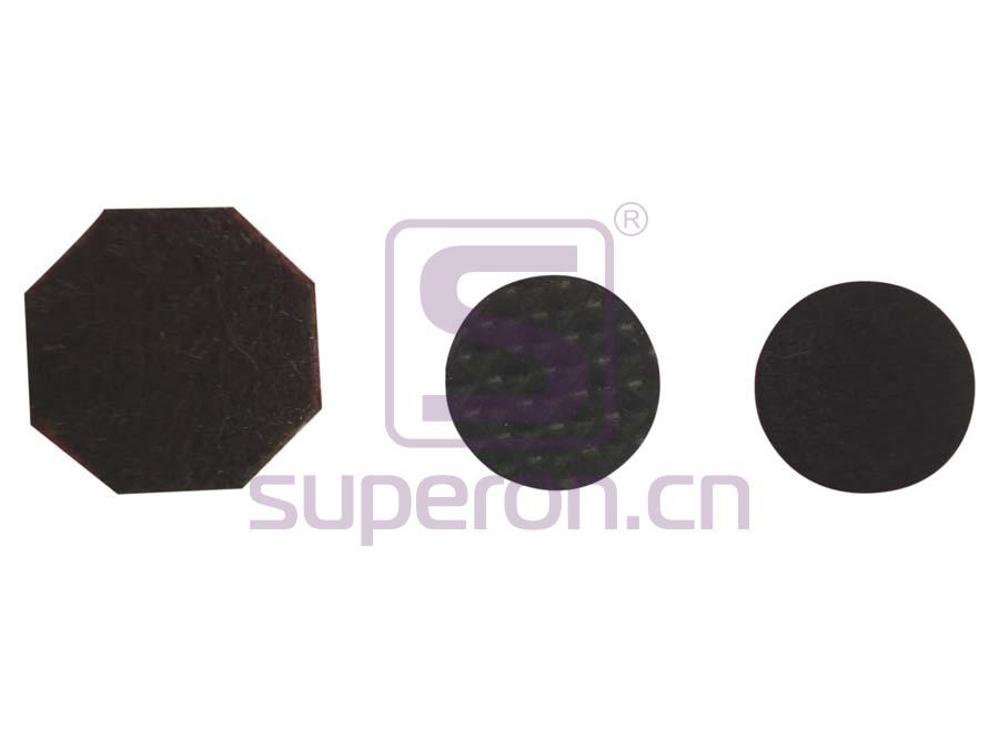 Rubber floor protector (round)