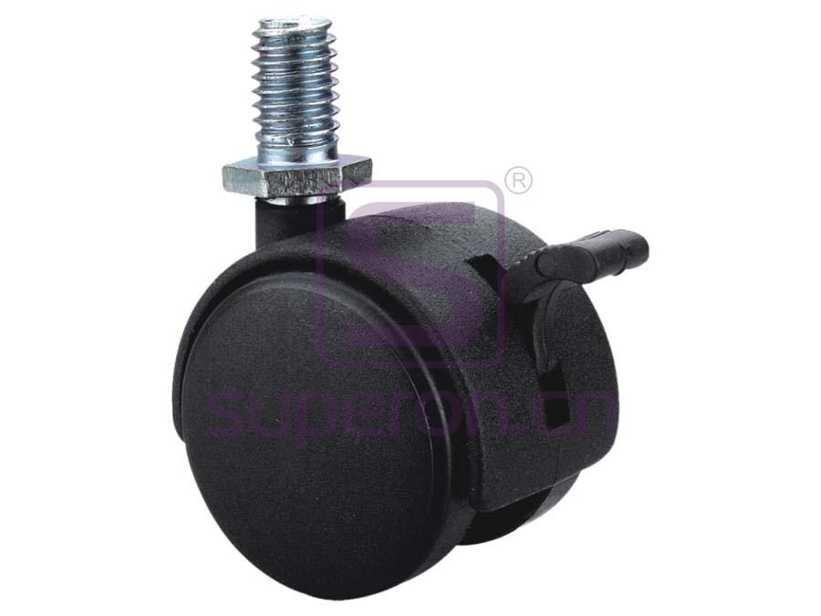 04-603 | Castor, w/ thread, with brake