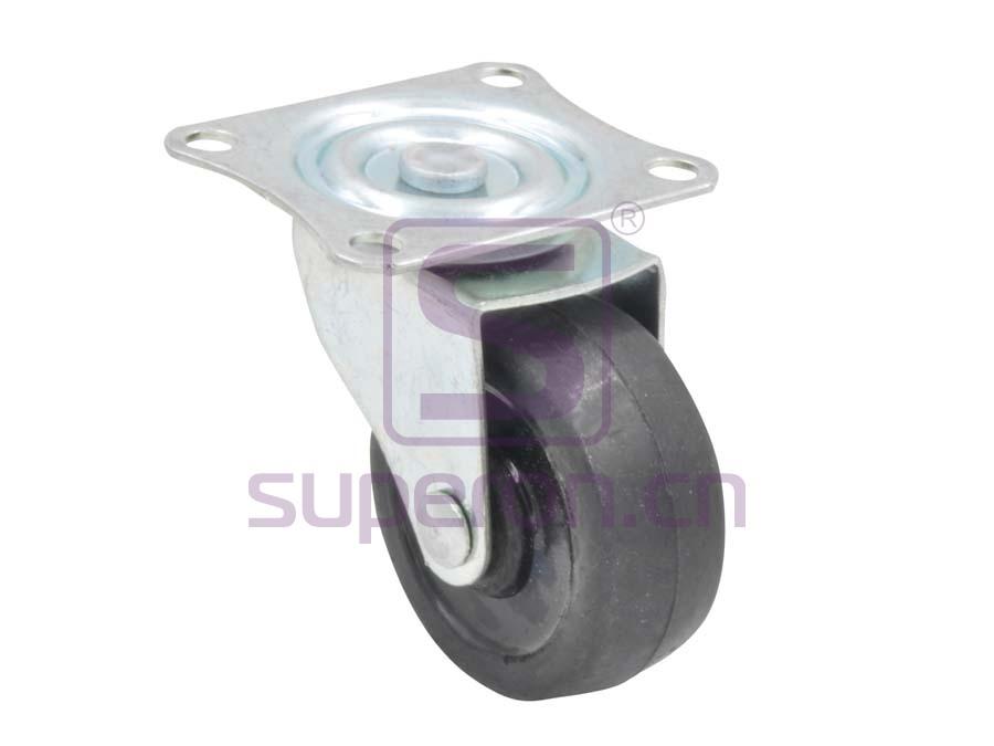 04-704 | Steel castor, w/ plate