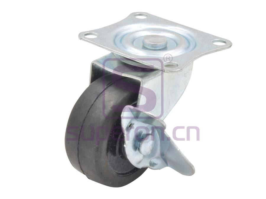 04-705 | Steel castor, w/ plate & brake