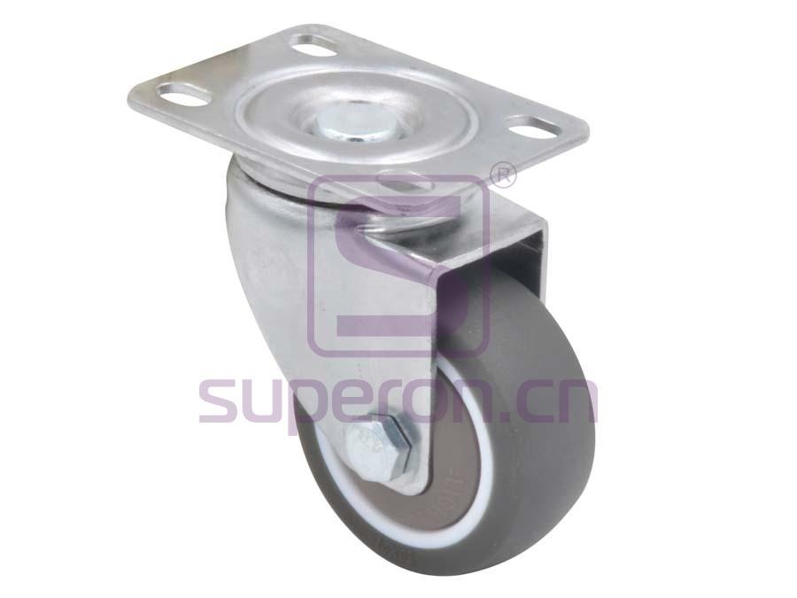 04-732   Steel castor, w/ plate