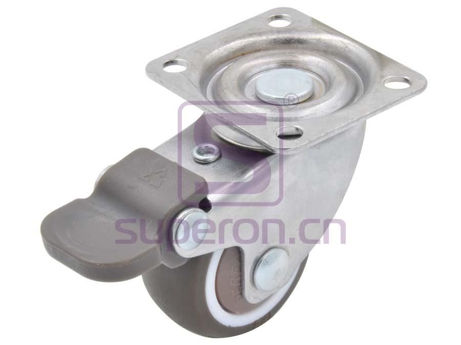 04-733 | Steel castor, w/ plate & brake