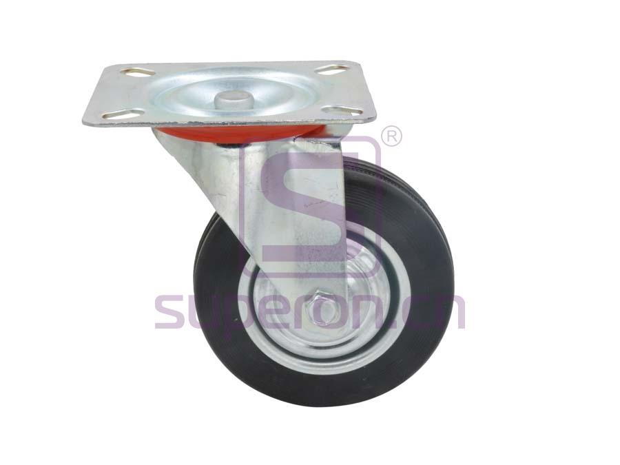 04-760 | Steel castor, w/ plate