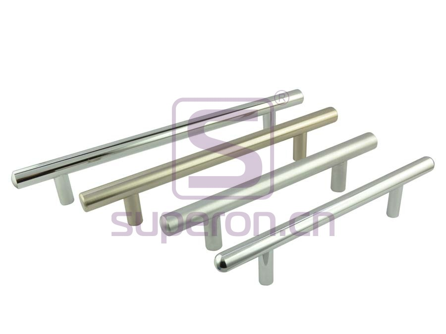 Furniture handle, solid steel