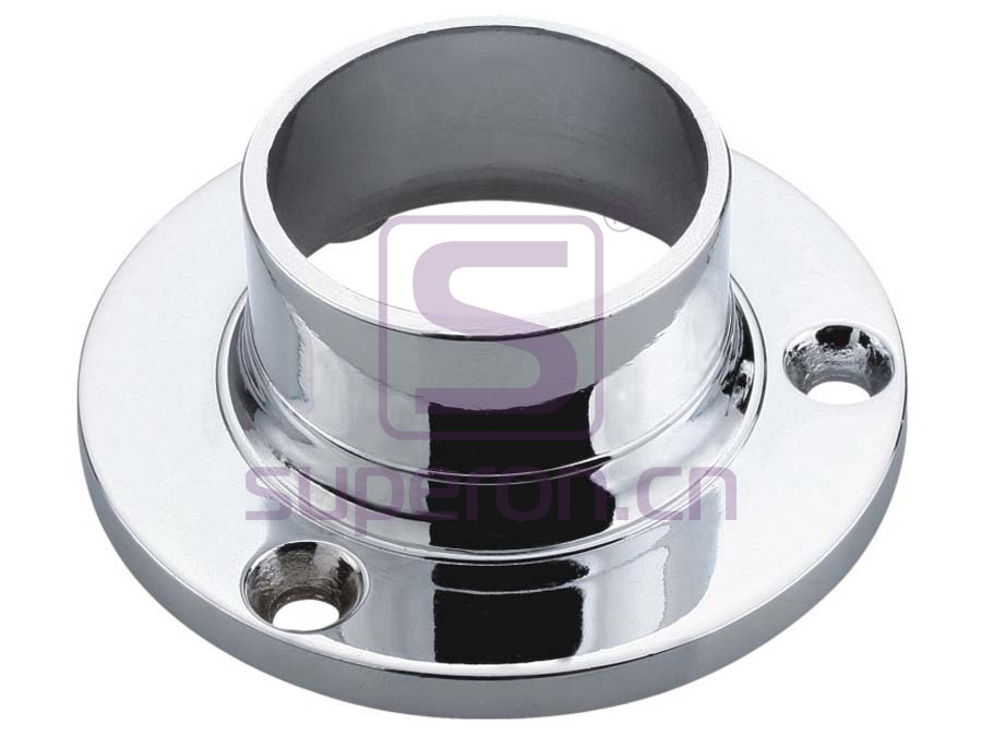 Flange with fix screw, d25mm