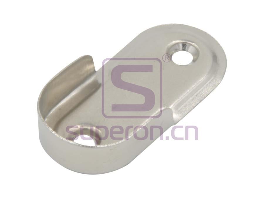 06-104 | Tube oval flange, steel, D25mm