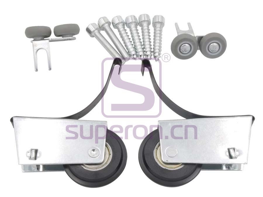 Roller system (asymmetric)
