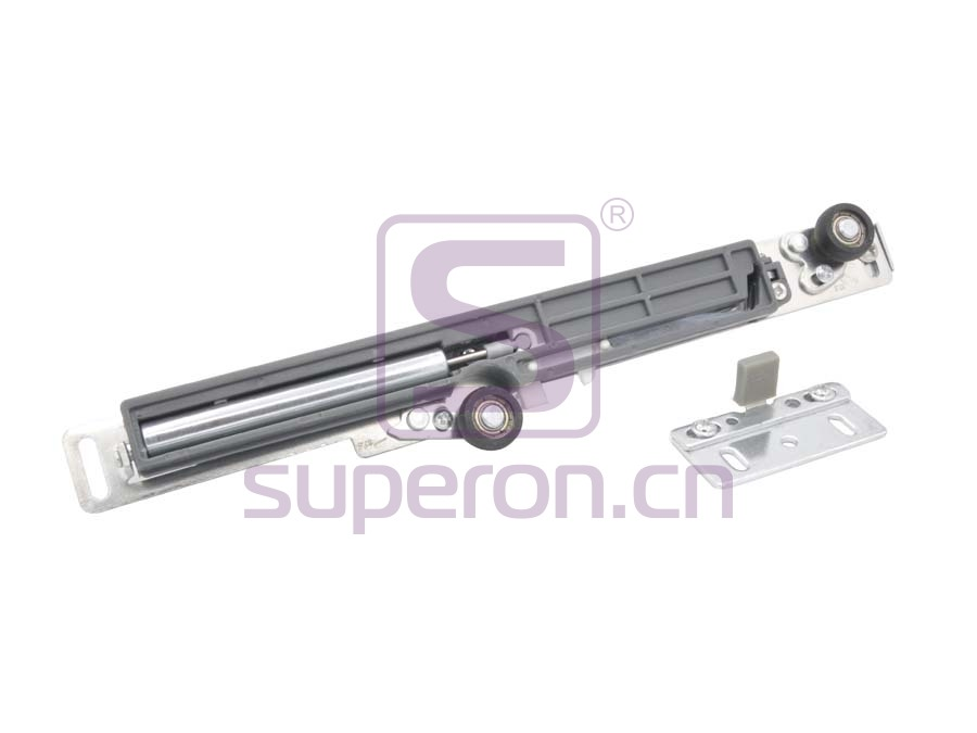 Adjustable soft closer (slide door)