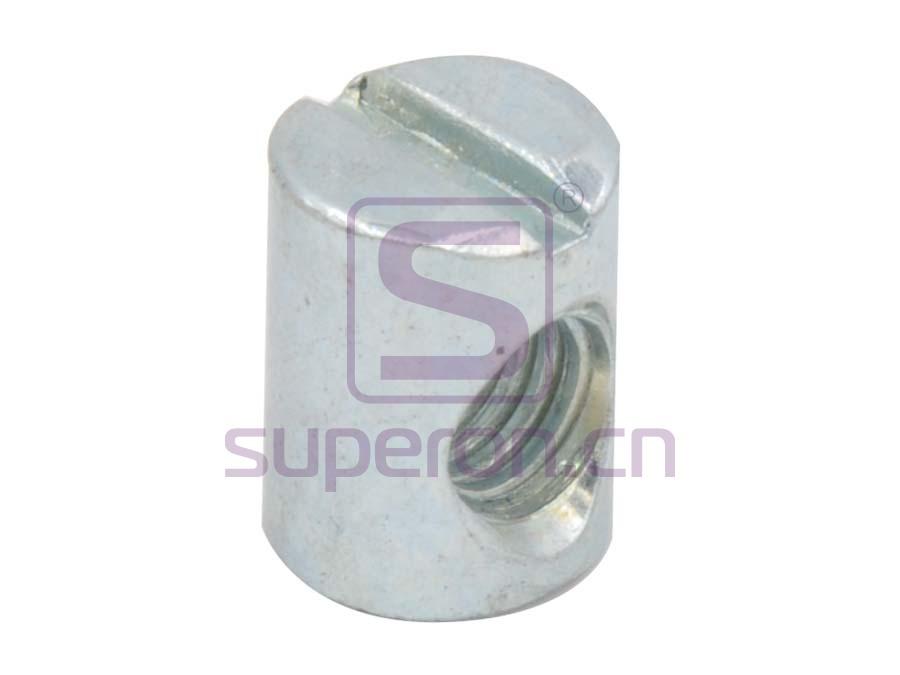 Barrel nut, slot, steel