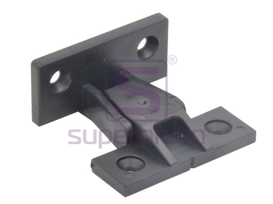 Plastic connector on corner