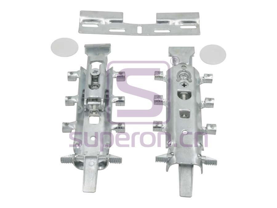 Cabinet hidden suspension bracket