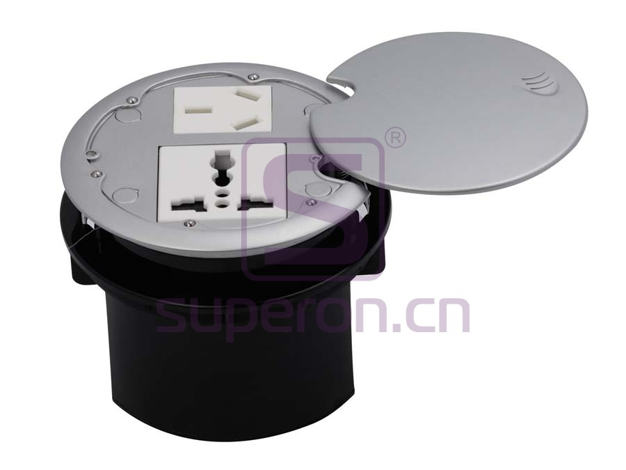 Table cap with sockets