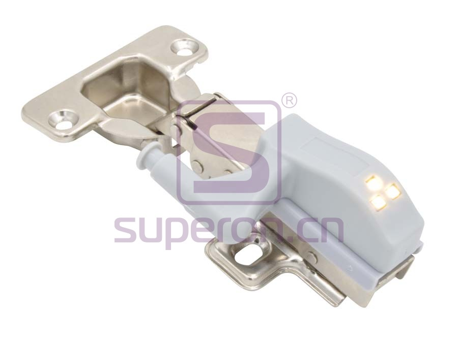 LED light for hinge (button)