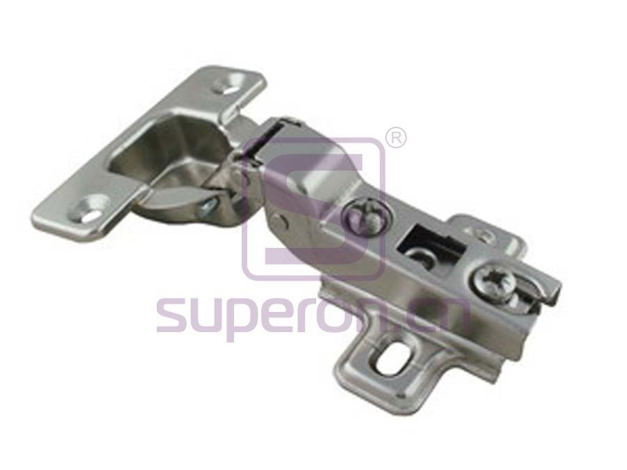 01-004-B | Push-to-open hinge, slide-on