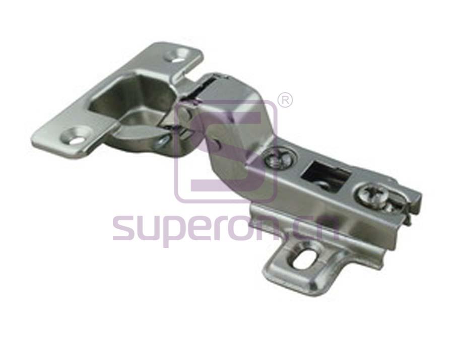 01-004-C | Push-to-open hinge, slide-on