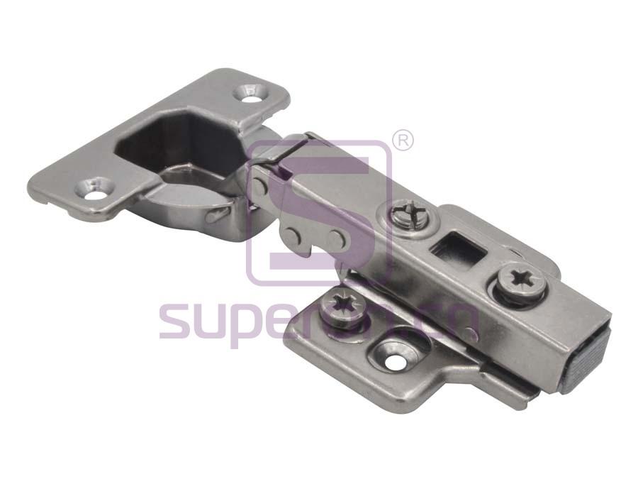 01-036-black nickel | Soft-closing hinge 3D