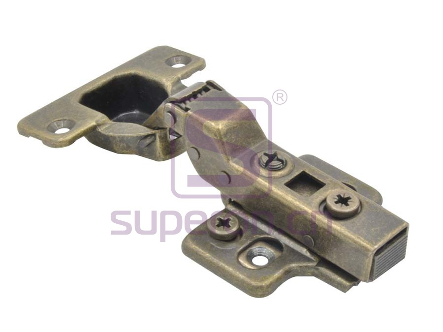 01-036-bronze | Soft-closing hinge 3D