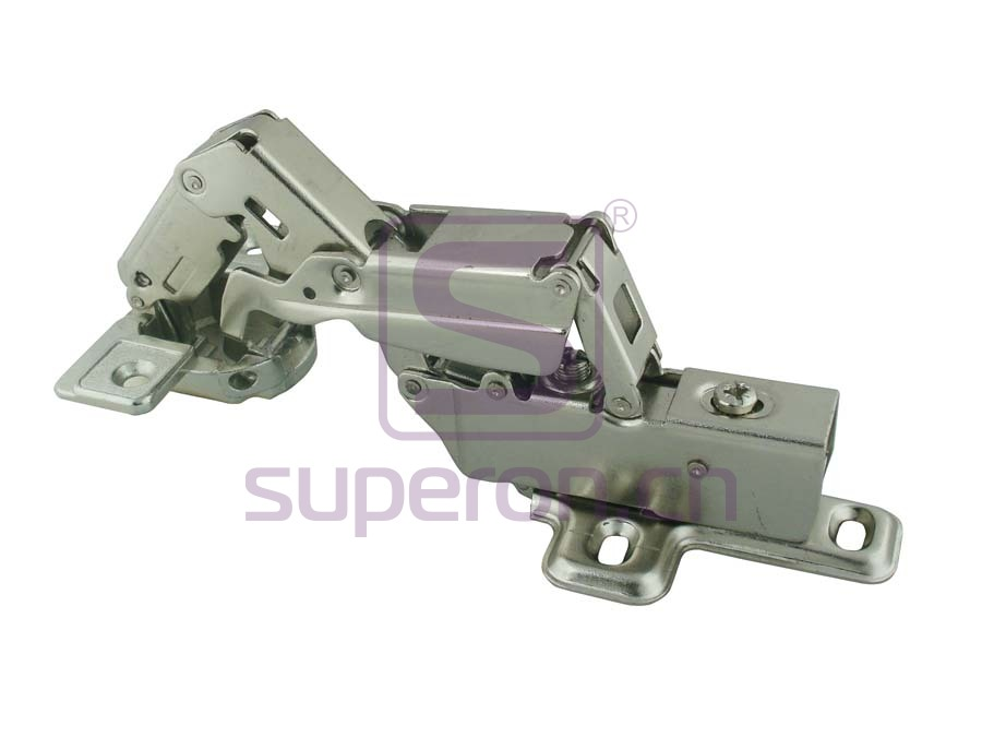 01-045-C | Soft-closing hinge, 165°, clip-on