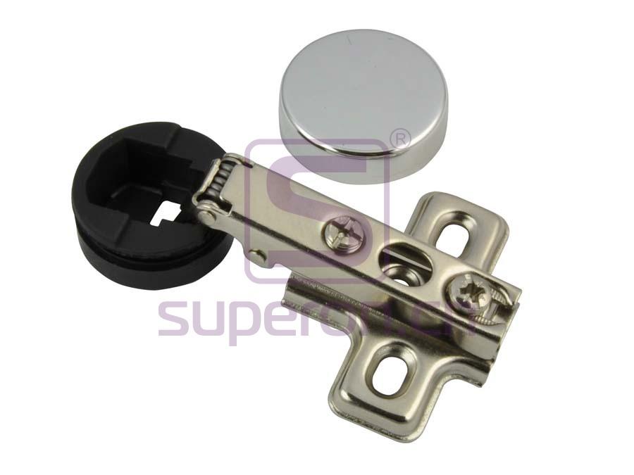 01-101-tapscrew | 26mm hinge for glass doors