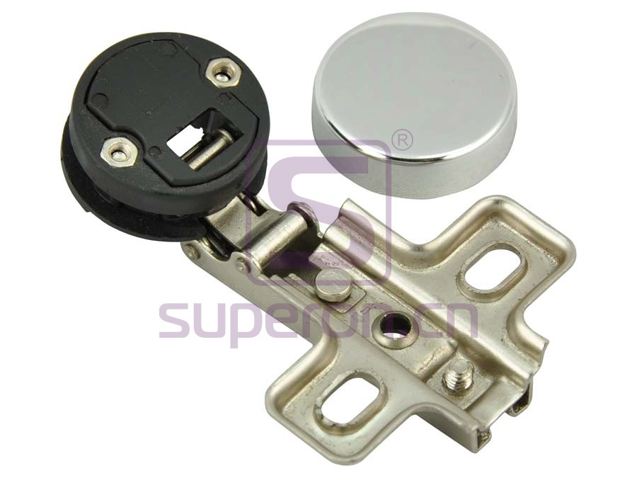 01-101-with nut | 26mm hinge for glass doors