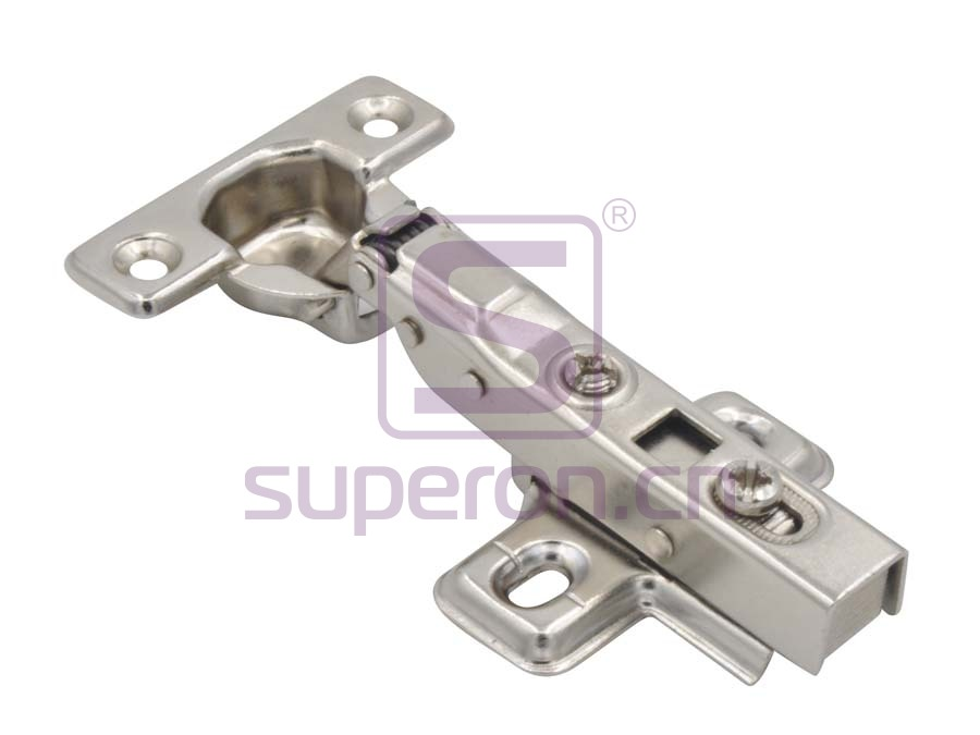 01-133-B | Hinge 26mm, soft-closing, clip-on
