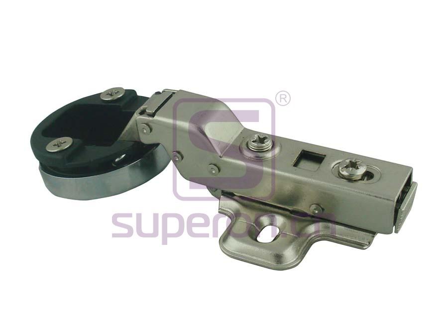 01-147-B | Soft-closing hinge d35mm, for glass
