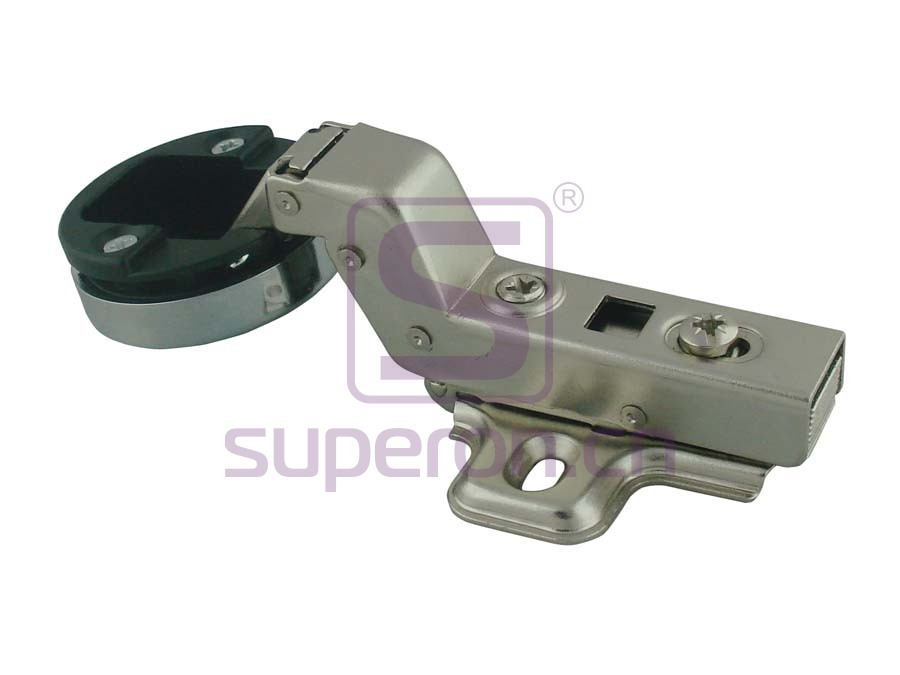01-147-C | Soft-closing hinge d35mm, for glass