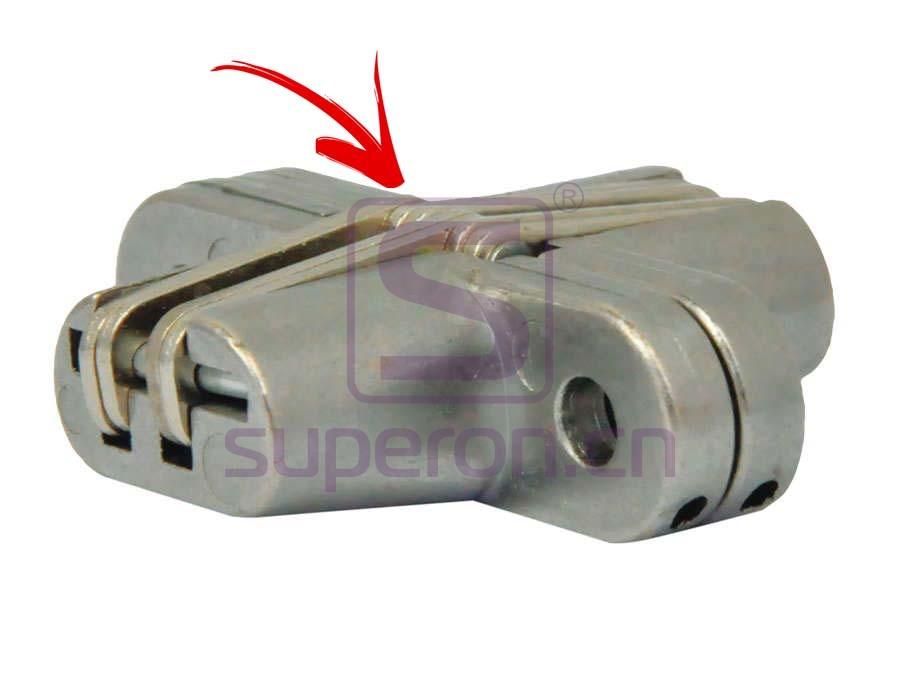 01-308-R2 | Hidden hinge