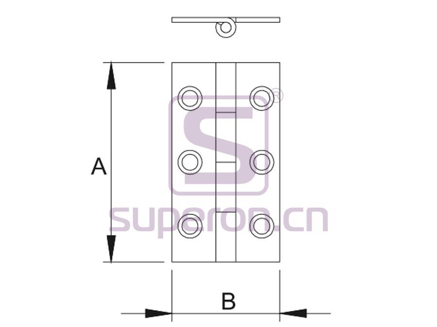 01-955-q   Door hinge