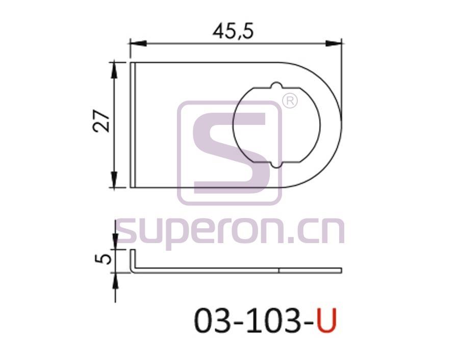 03-103-U-q | Lock, #103