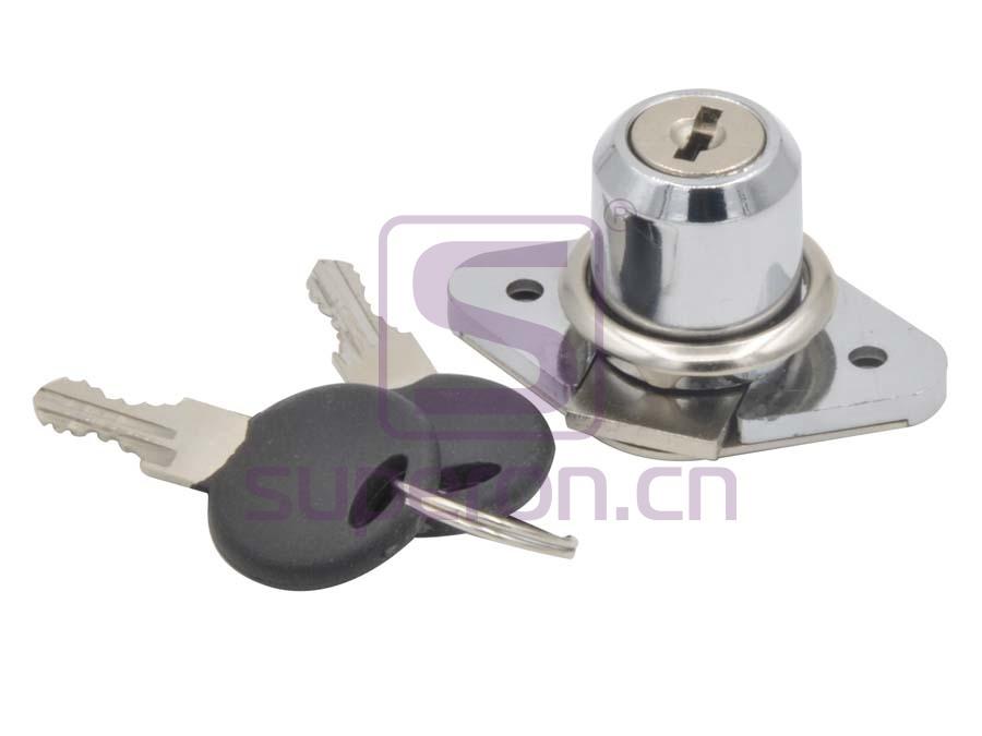 03-106-pz | Furniture lock, #106
