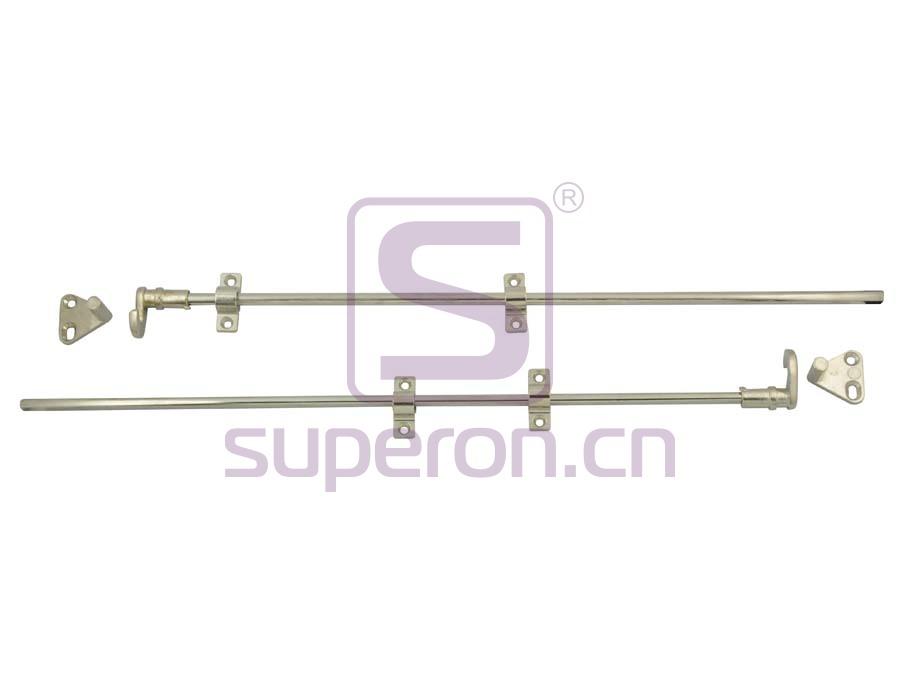 03-170-x2   Rotating bar lock for two doors