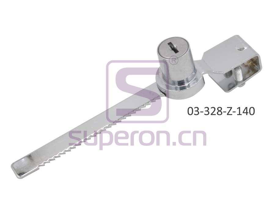 03-328-Z-140 | Lock for glass furniture, #328