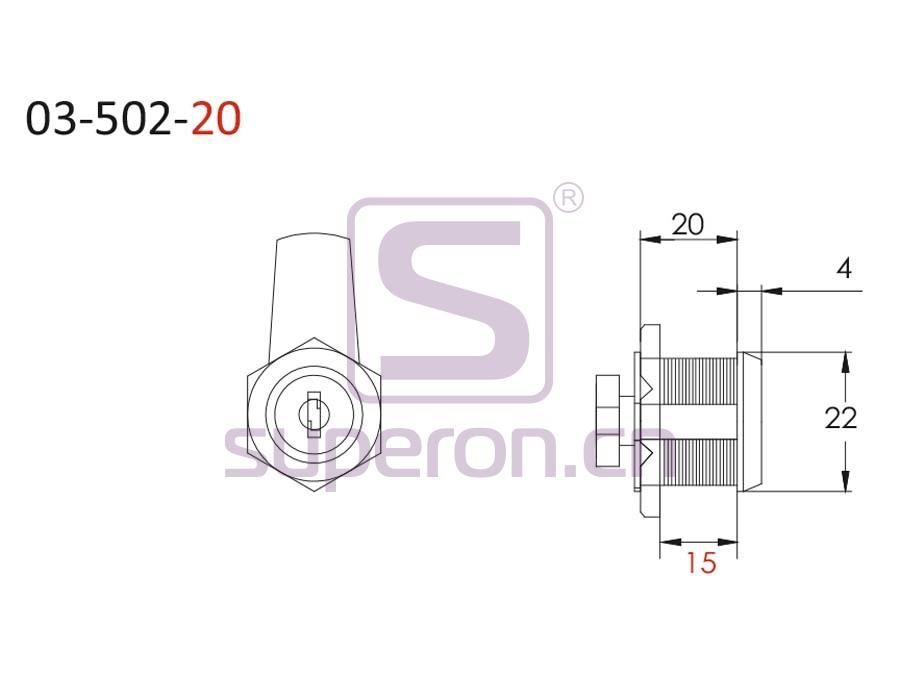03-502-20-q | L=20mm