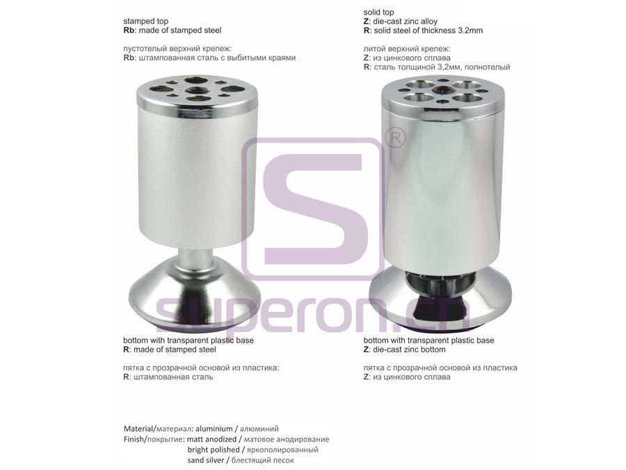 04-150-q | Aluminium foot