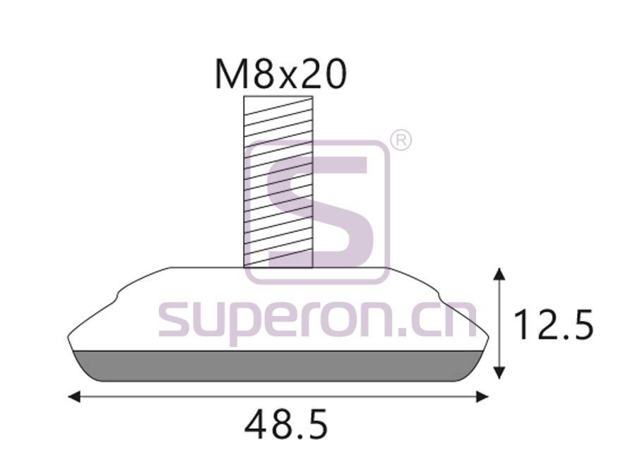 04-215-q | Leveller, D49/h12.5