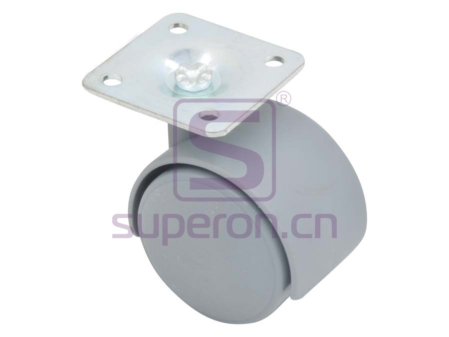 04-600-grey | Castor, wıth plate