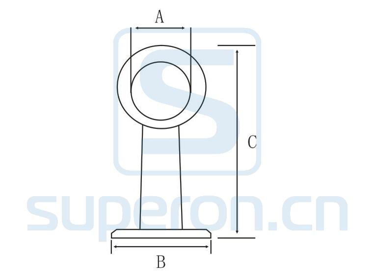 06-131x | Tube flange (open-ended)