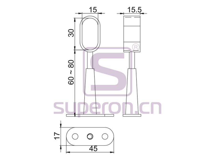 06-143-q | Tube holder (open-ended)